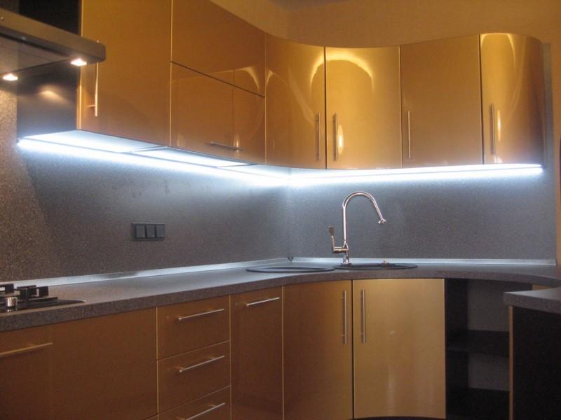Подсветка для кухни своими руками фото