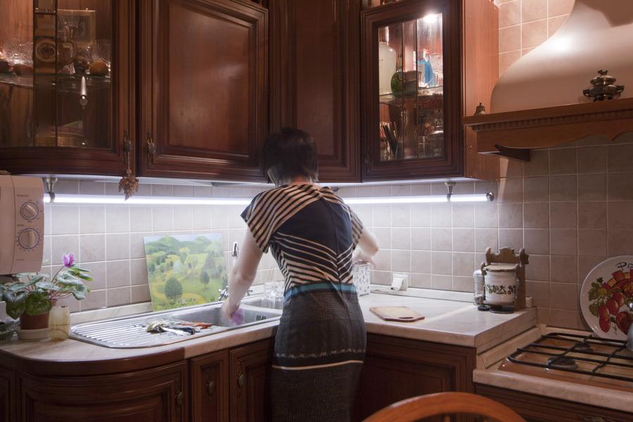 Освещенеие рабочей поверхности кухни